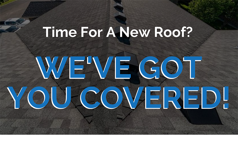 Time For A New Roof?