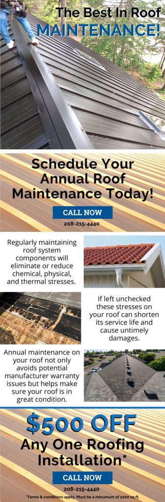 We're The Best In Roof Maintenance! 3