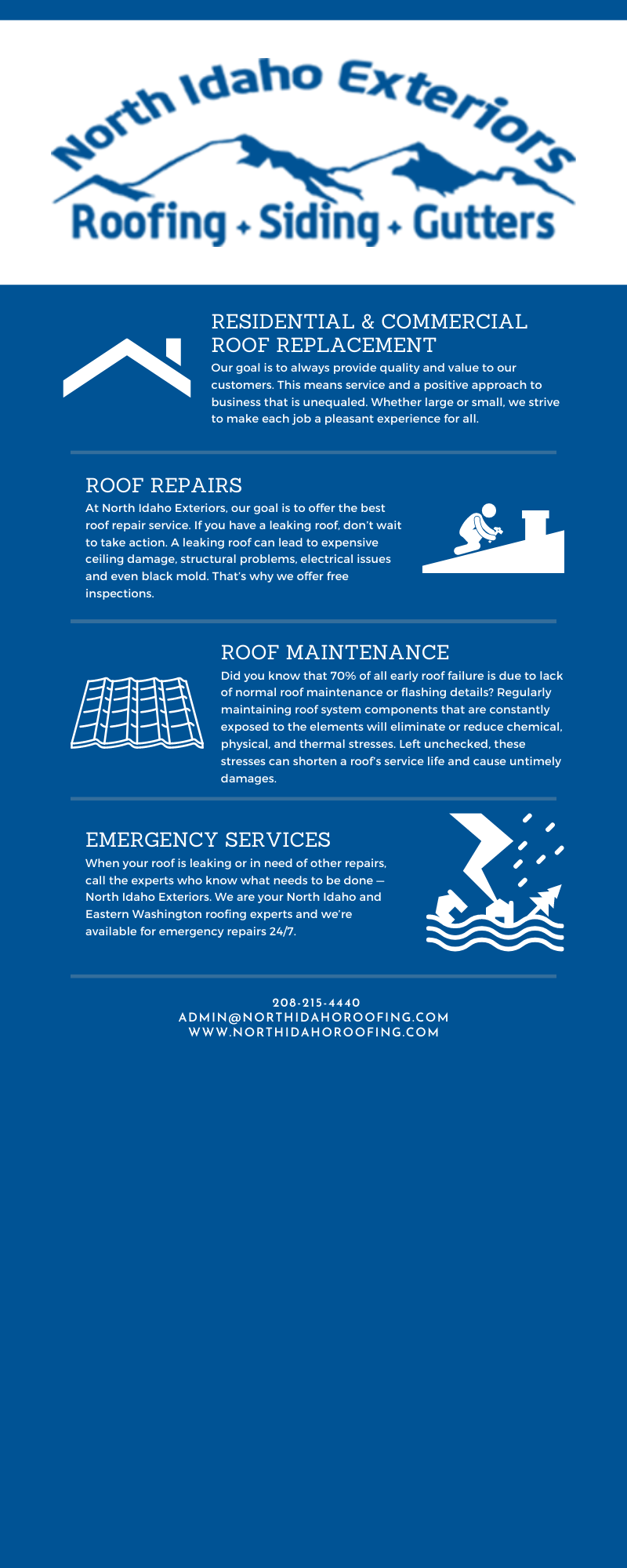 Roofing Experts Who Care About Your Investment. 3